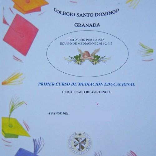 Mediación Escolar Colegio Santo Domingo Vistillas