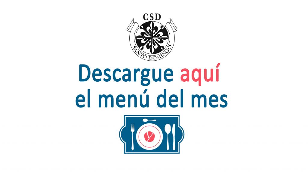 Colegio Santo Domingo Granada | Menú mayo de 2019