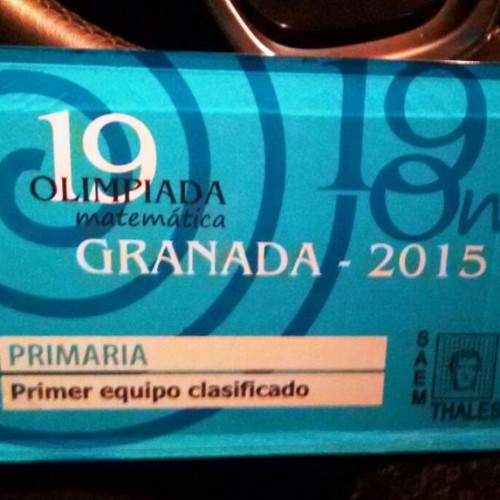 Olimpiada Matemática 2015