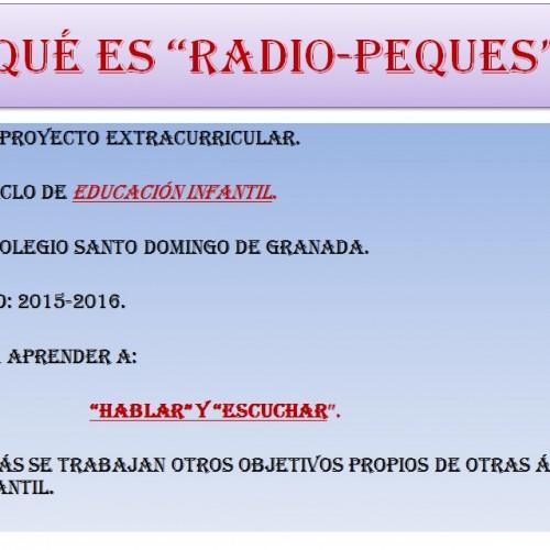 RADIO PEQUES