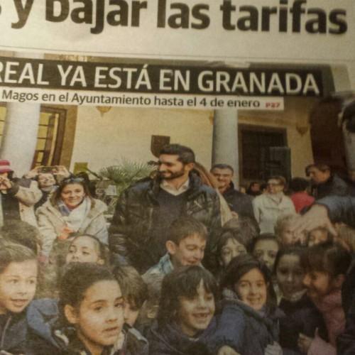 Visita al Cartero Real!