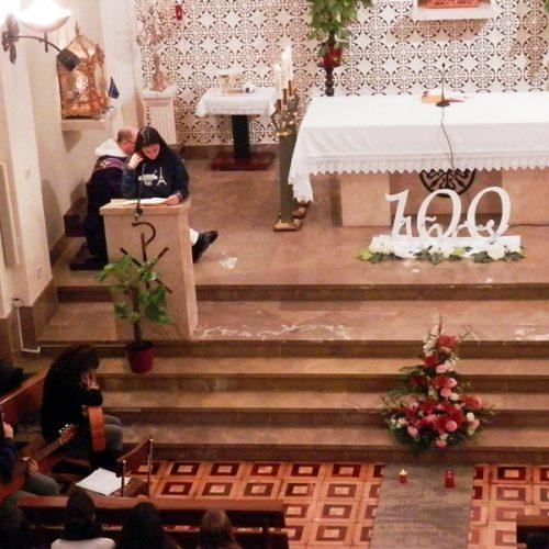 Madre Teresa Titos, Eucaristía en Casa Madre