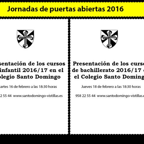 PRESENTACION NUEVO CURSO 2016/17