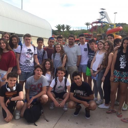 Viaje fin de curso a Aqualand, 3º ESO A y B