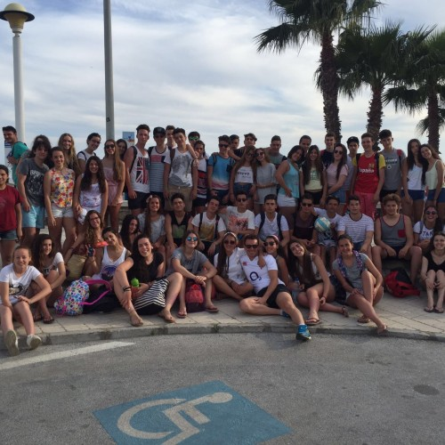 Torre del Mar, viaje fin de curso 4º ESO y 1º Bachillerato