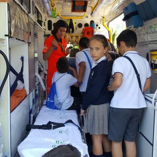 Visita centro de coordinación de emergencias, 5º EPO