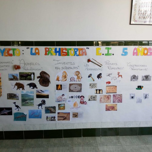 La Prehistoria , E. Infantil 5 años