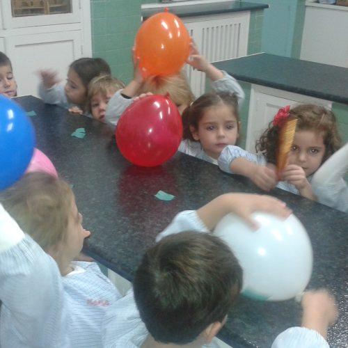 Visita al laboratorio 4 años E.Infantil