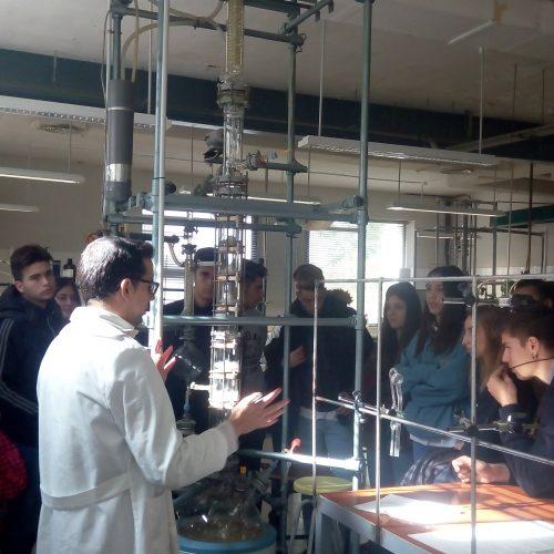 Visita a la Facultad de Ciencias