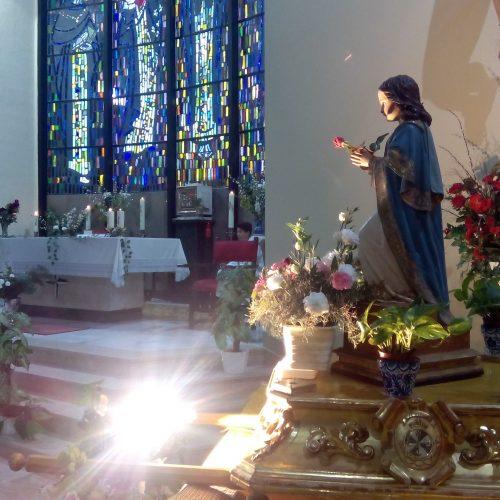 Eucaristía Niña María (ESO)