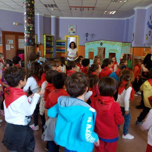 Visita de E. Infantil 5 años a Albolut