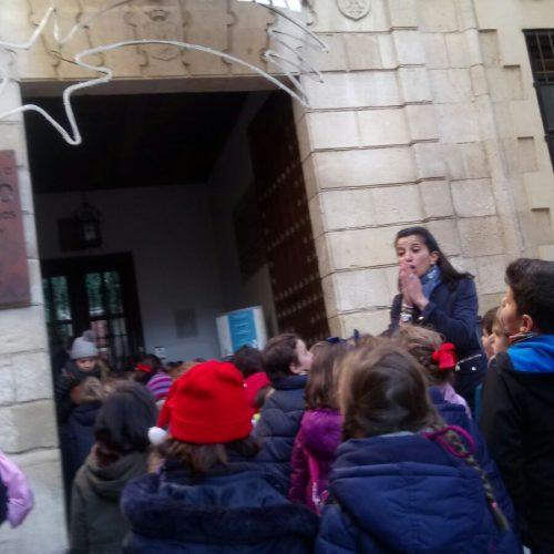 Visita a los belenes de la ciudad  (1º EPO B )