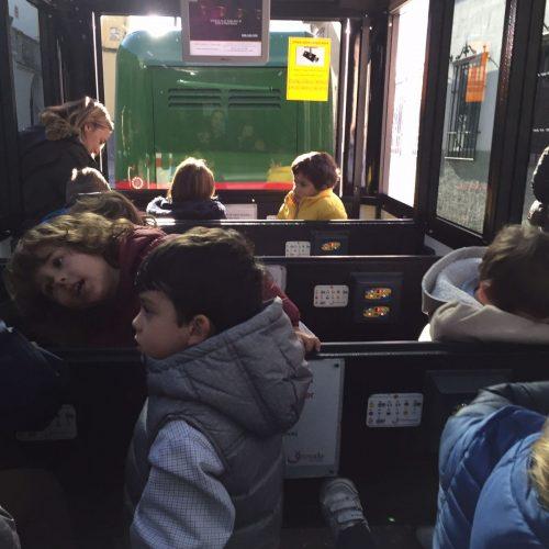 Tren turístico (Educación Infantil)