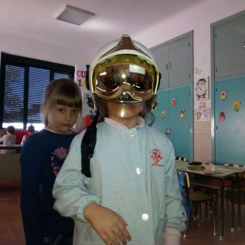 Los niños de 5 años han recibido una visita especial