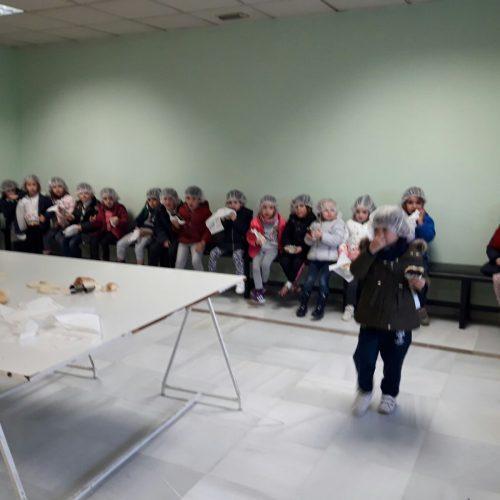 """Visita a la fabrica de """"Maritoñi""""  ( Ed.Infantil 4años)"""