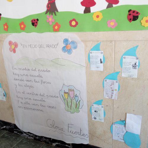 Día de la Poesía. (4 años B)