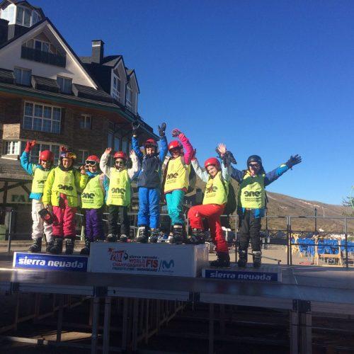 Mannequin Challenge. Jornadas de Esquí en Sierra Nevada