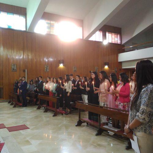 Confirmaciones en el Colegio Santo Domingo