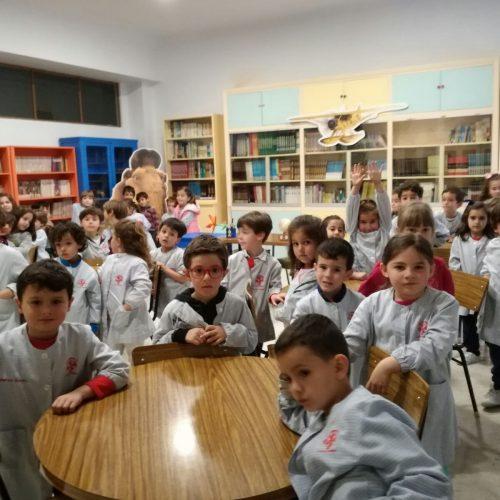 Laboratorio y biblioteca  (Ed.Infantil 5 años)