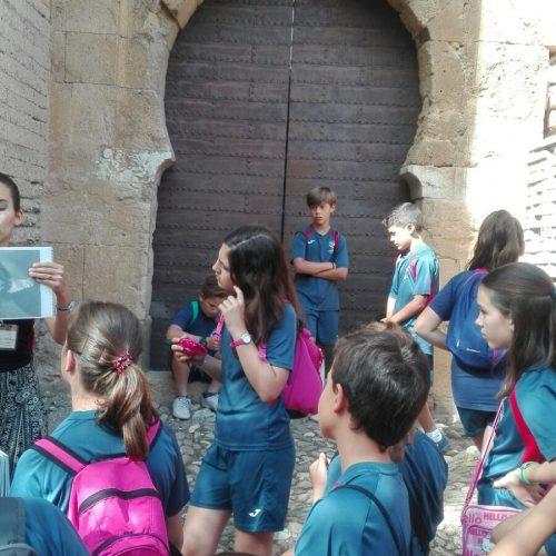 Visita a la Alcazaba de la Alhambra (5ºEPO)