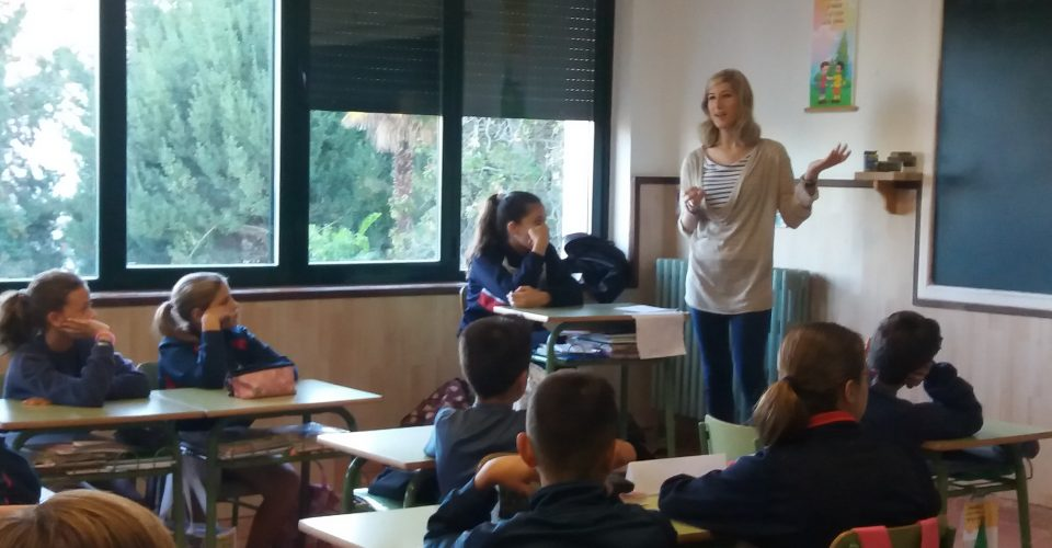 Visita de una profesora muy especial (6ºEPO)