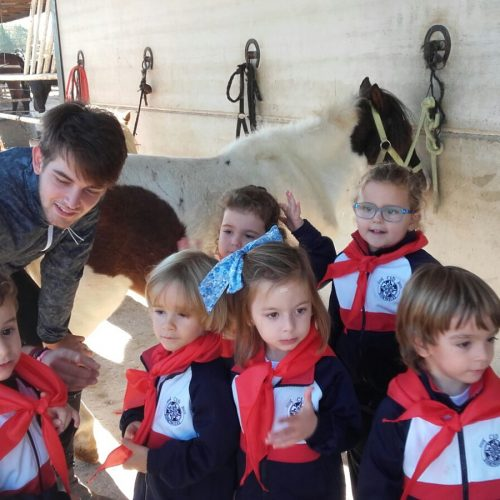 Visita al Centro Ecuestre Camaura (Ed. Infantil 3años)