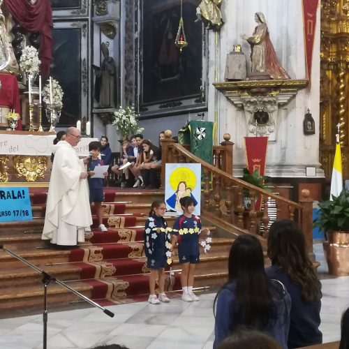 Eucaristía Virgen del Rosario en la Iglesia Santo Domingo