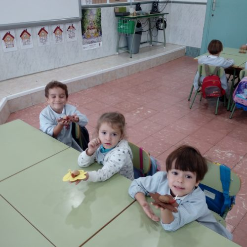 "Celebramos ""EL OTOÑO""  (Ed. Infantil 4años)"