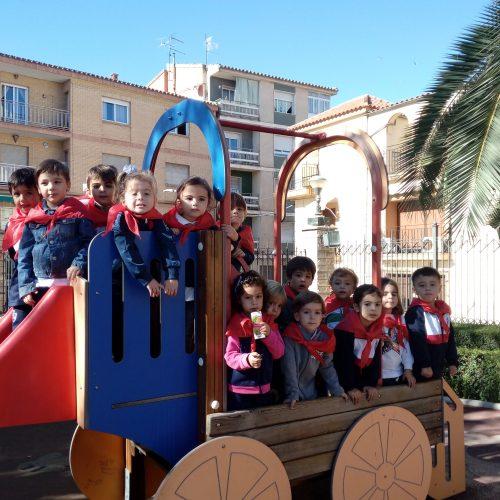 Visita al centro Educación Vial ALBOLUT (Ed.Infantil 4 años)