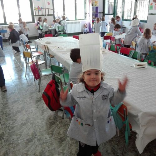 Taller de cocina (Ed.Infantil 3 años)