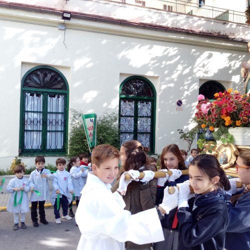 Celebración del día de la Niña María