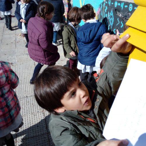 Carta el buzón  (Ed.Infantil 4 años)