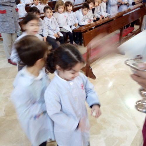 Bendición del Niño Jesús (Ed.Infantil)