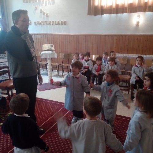 Oratorío con el Padre Don Francisco