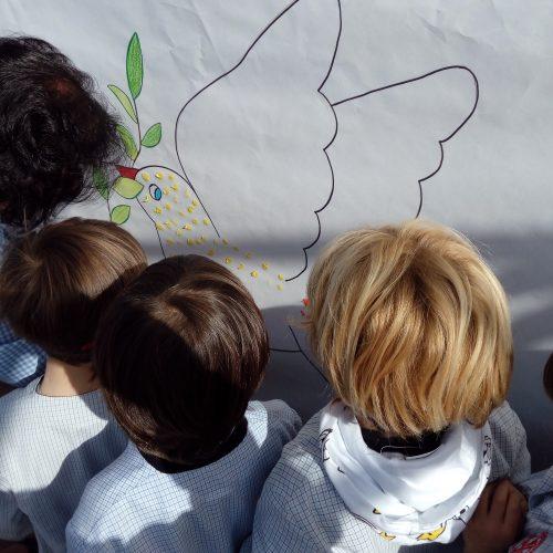 Celebración del día de la Paz.