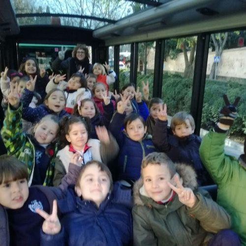 E. Infantil en el bus turístico