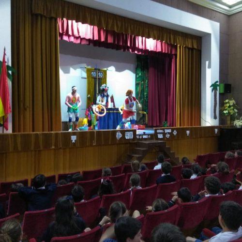 Teatro bilingüe en primaria.