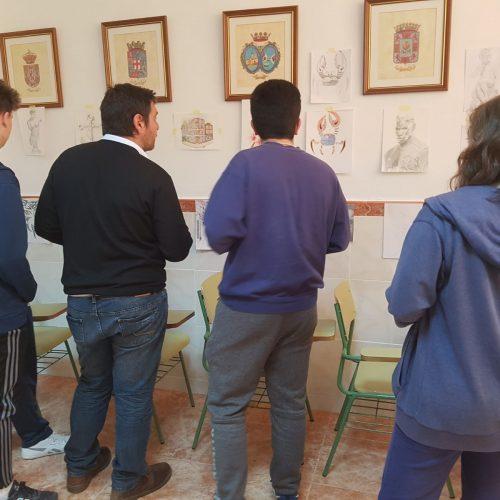 Exposición de dibujo artístico 2018